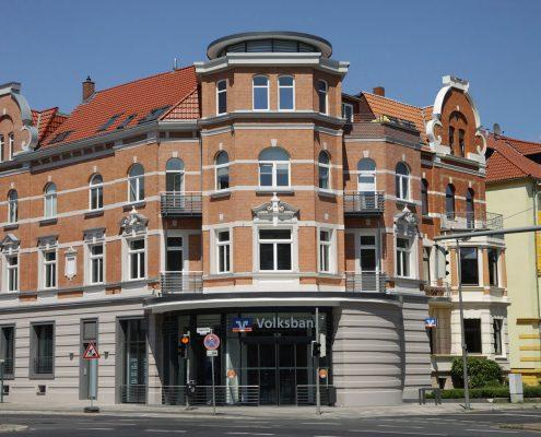 Klinkenreinigung & Verfugung Volksbank